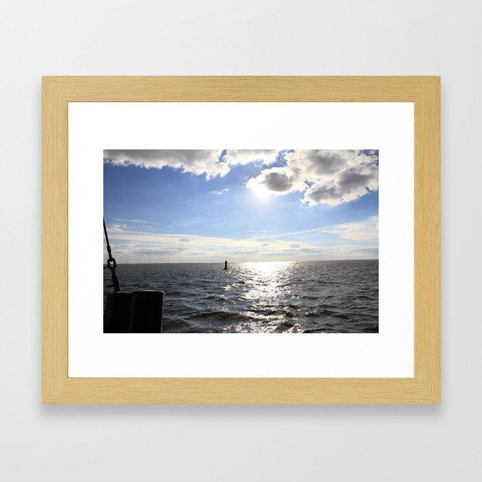 Look in the World Framed Art Print