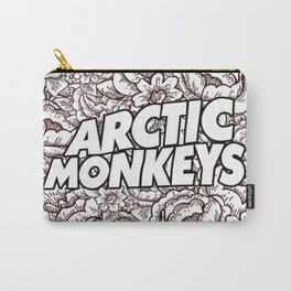 Artic Monkeys Flower Circle Carry-All Pouch