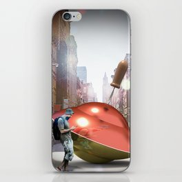Spinning Top Hipster iPhone Skin