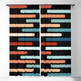 Colorful sticks Blackout Curtain