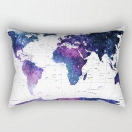 ALLOVER THE WORLD-Galaxy map Rectangular Pillow