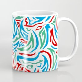 Parts Abstract RGB Coffee Mug