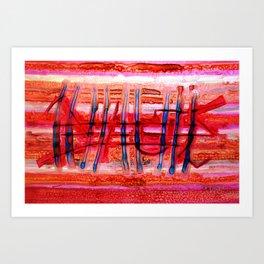 Graffitti Art Print