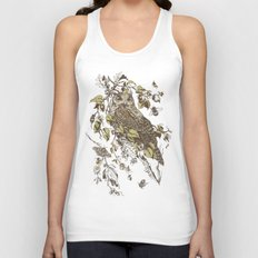 Great Horned Owl Unisex Tank Top