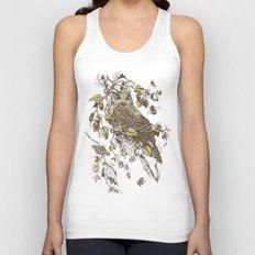 Great Horned Owl Unisex Tank Top