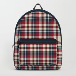 Holiday Plaid 25 Backpack