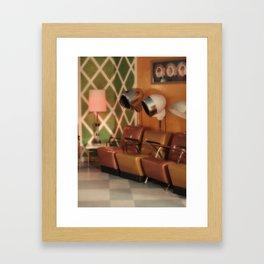 Beauty parlor Framed Art Print