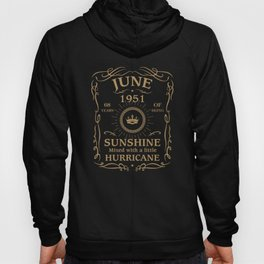 June 1951 Sunshine Mixed With A Little Hurricane Hoody