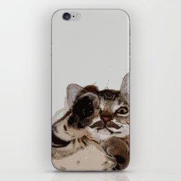I Mustache You a Question iPhone Skin