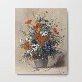 Eugène Henri Cauchois - Summer Flowers Bouquet (1911) Metal Print