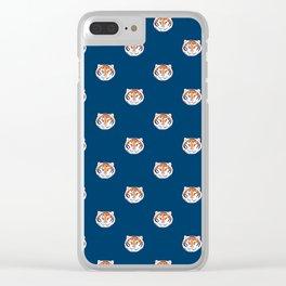 Tigra dot Clear iPhone Case