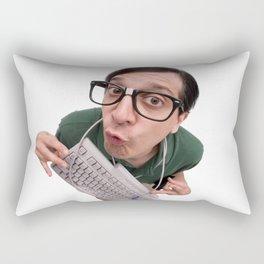Computer Nerd Rectangular Pillow