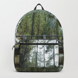 Bridge Over Fall River Backpack