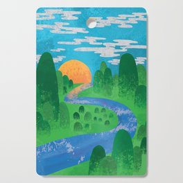 The Valley Cutting Board