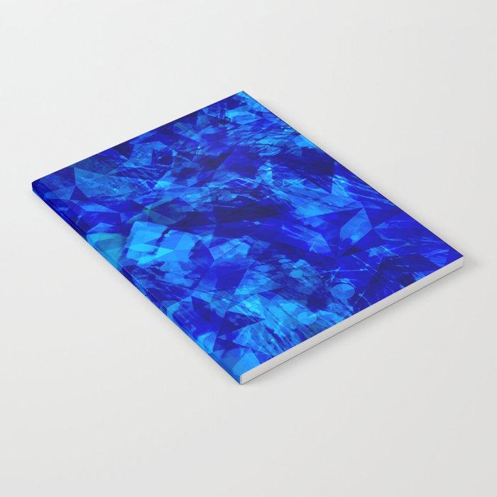 Cobalt Facets Notebook