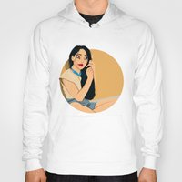 pocahontas Hoodies featuring Junkie Pocahontas by Fransisqo82