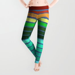 Colorful Lines Leggings