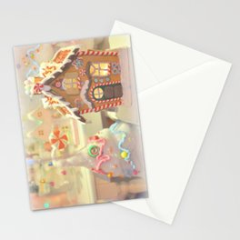 Gingerbread Days Stationery Cards