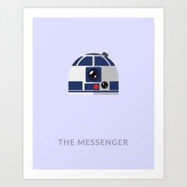 SW R2-D2 The Messenger Art Print