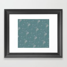 skulyfish repeat Framed Art Print