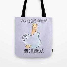 Llamanade Tote Bag