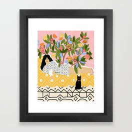 Paint Me Like One of Your French Ladies Framed Art Print