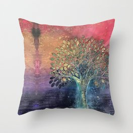 Life of Tree Throw Pillow