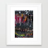 fishing Framed Art Prints featuring Fishing by Mary Kilbreath