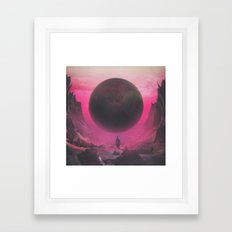 DEPLETED PATIENCE (everyday 01.09.16) Framed Art Print