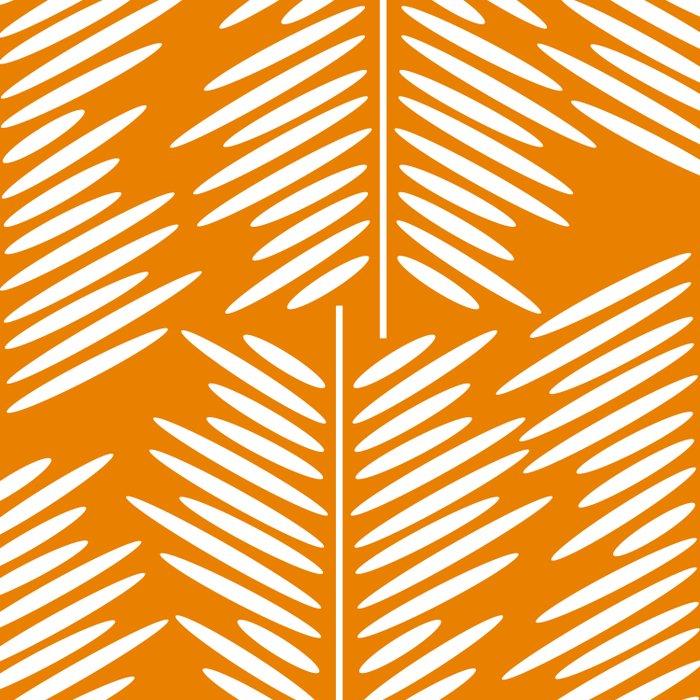 Leaves- minimal Duvet Cover