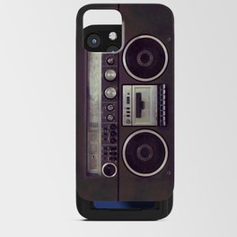 Retro Boombox iPhone Card Case