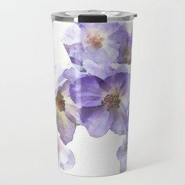 Rosa canina - watercolour Travel Mug