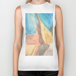 String Instruments and Books Biker Tank