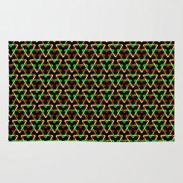 Ethiopian Triangles Rug