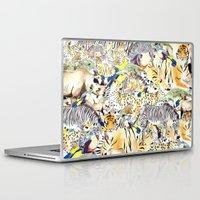 safari Laptop & iPad Skins featuring Safari by Katie Rose Johnston
