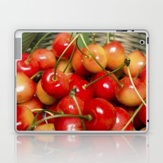 Cherries in a Basket Close Up Laptop & iPad Skin