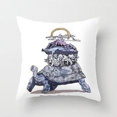 The discworld Throw Pillow