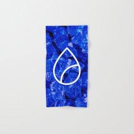 Lapis Lazuli Candy Gem Hand & Bath Towel