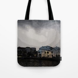 Evening at the Waterfront Tote Bag