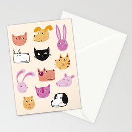 All the Pets Stationery Cards