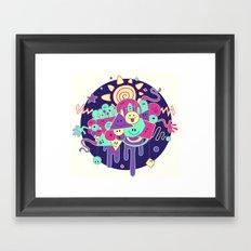 Happydoodle Framed Art Print