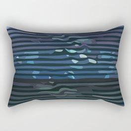 Wave #9 Rectangular Pillow