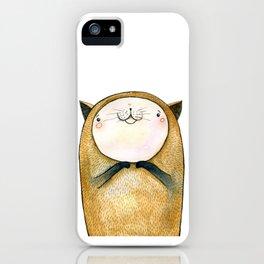 cutie cat iPhone Case