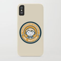Cute John Watson - Orange iPhone X Slim Case