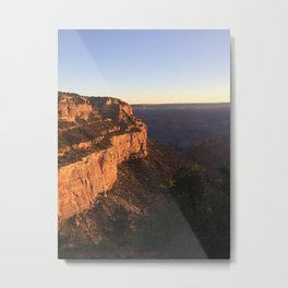 Grand Canyon - Bright Angel Trailhead (early morning) Metal Print