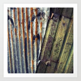 Corrugated  Art Print