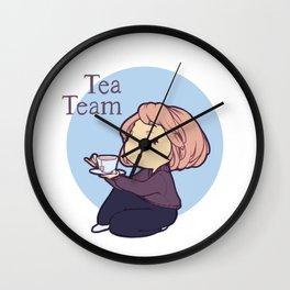 Tea Team Wall Clock