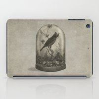 bird iPad Cases featuring The Curiosity  by Terry Fan
