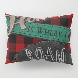Buffalo Roam Pillow Sham