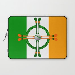 Hurley and Ball Celtic Cross Design Laptop Sleeve